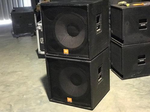 JBL SRX 4718X Subs