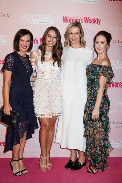 Sheree Mutton Pink Hope event
