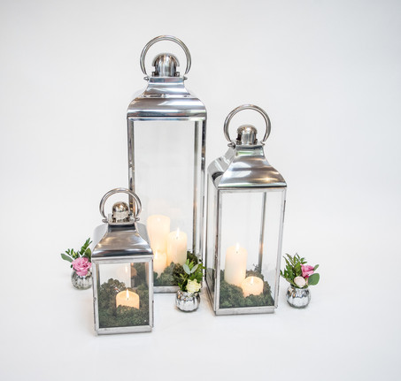 Chrome lanterns