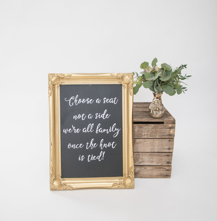 Personalised Chalkboard Signs