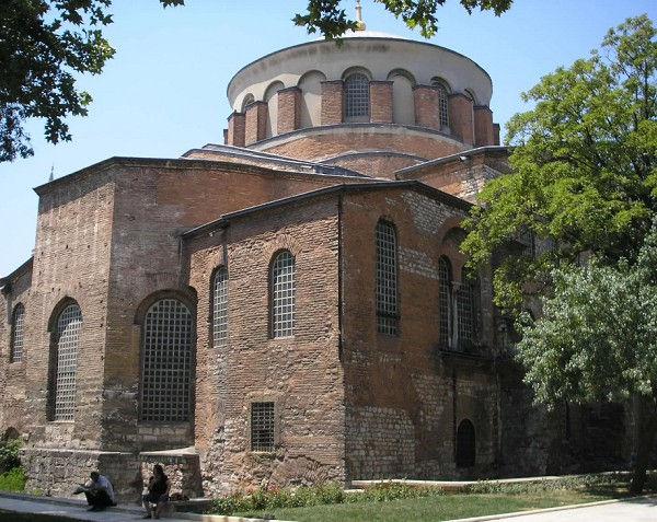 рис.6 Церковь Святой Ирины. Константиноп
