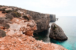 Incredibly beautiful cliffs of Coino