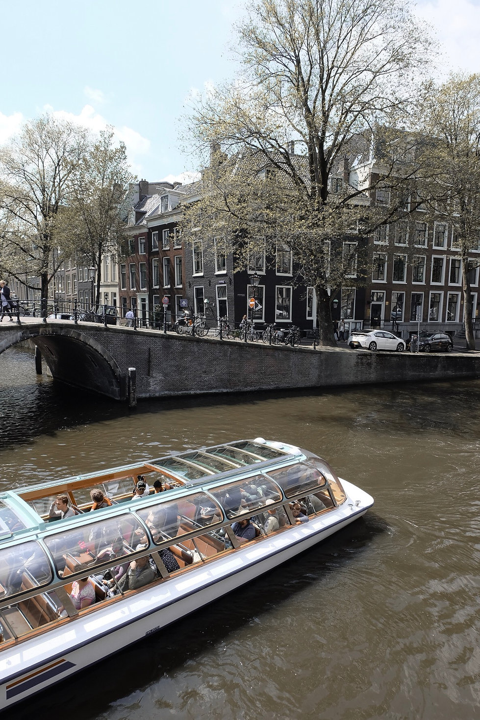 Canal tours of Amsterdam