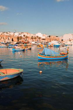 Marsaxlokk Fishing Village, Malta