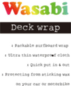 Wasabi Deck wrap logo and description.jp