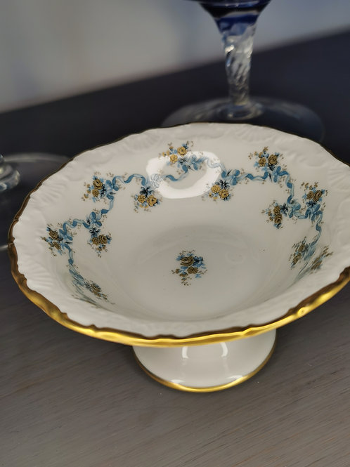 Vide-poche en porcelaine de Limoges