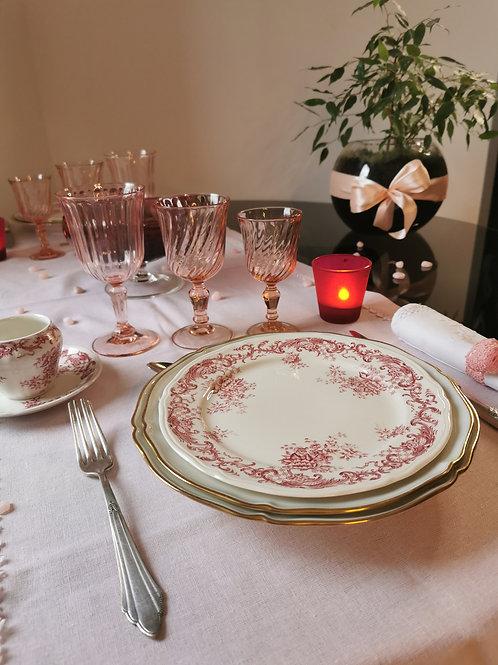 Coffret vaisselle Romantique Intemporel Chic