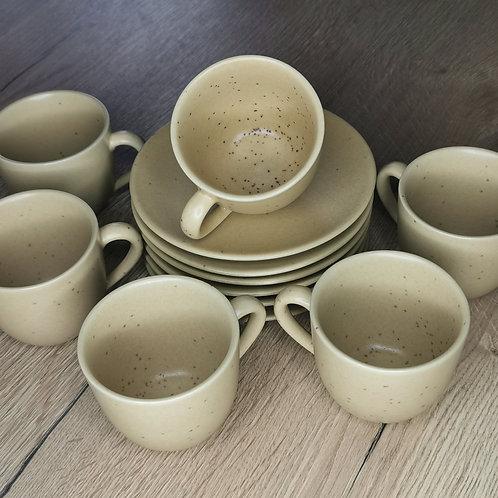 Service à café en grès