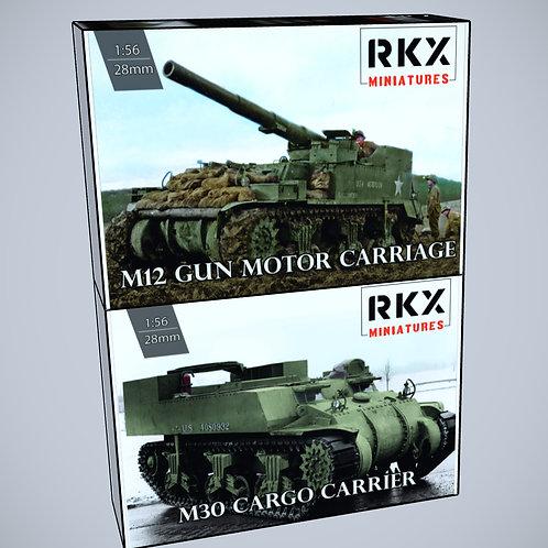 M12 and M30 Mobile Artillery Bundle