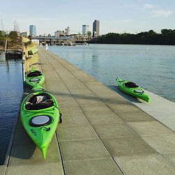 Getting ready for the GRAND OPENING Friday! Come try out our new kayaks and find the one calling you