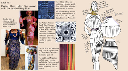 Look #1 Fabric Concepts