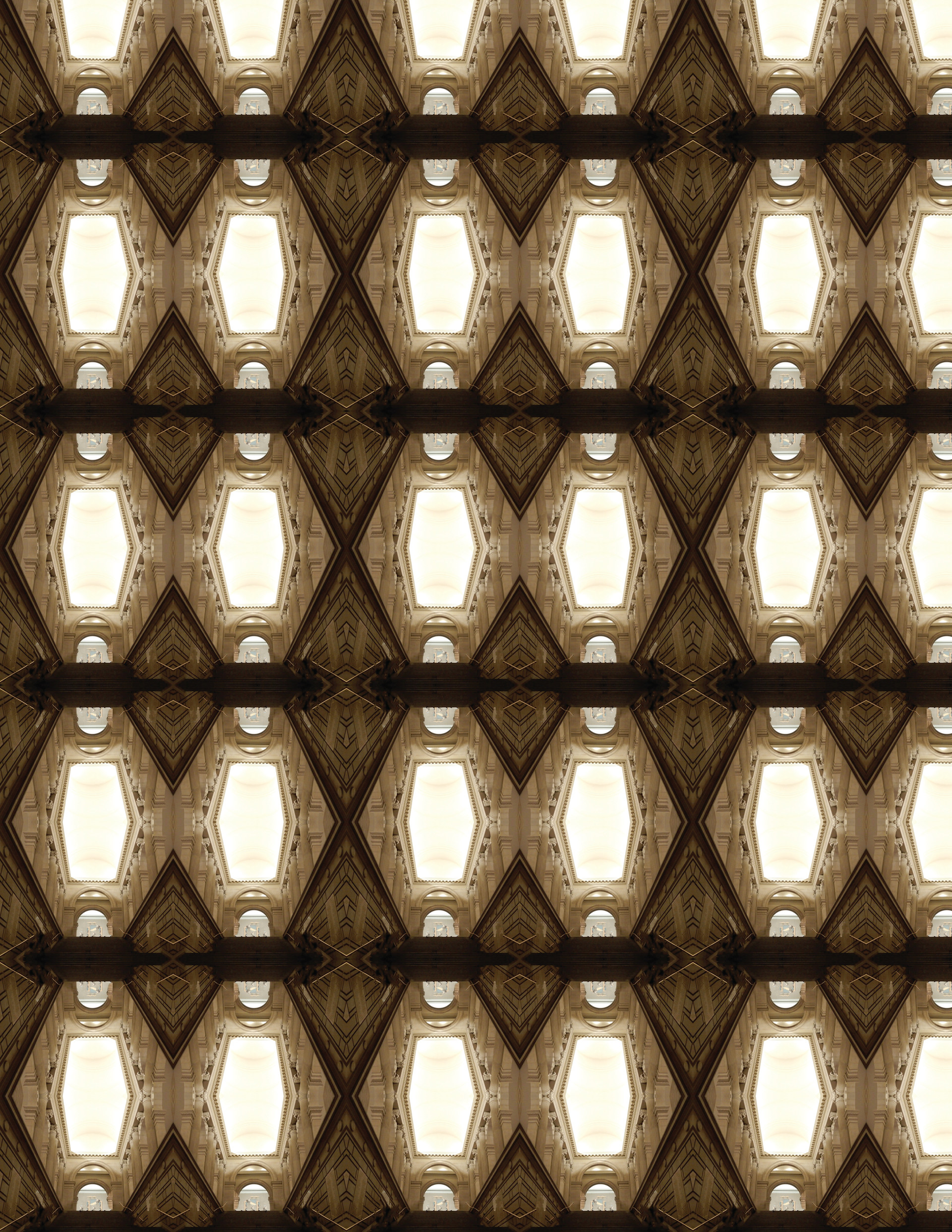 Hexagonal Print