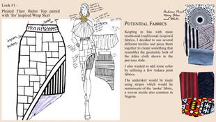 Look #1 Fabrics