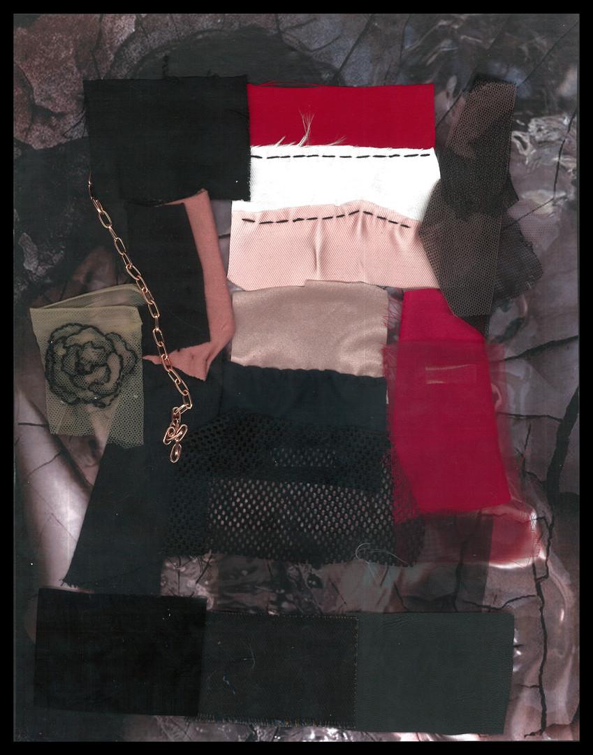 INCARNADINE - Fabric Board