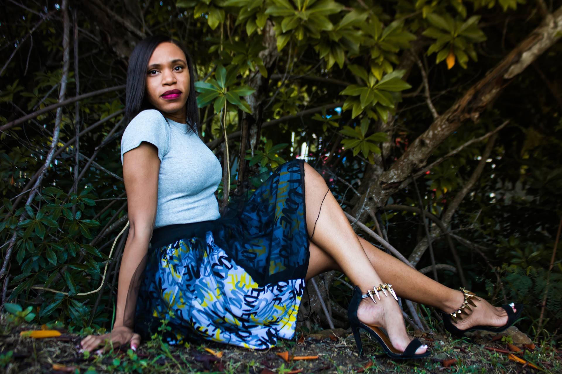 Model: Lauren George Photographer: Isaiah Jacobs