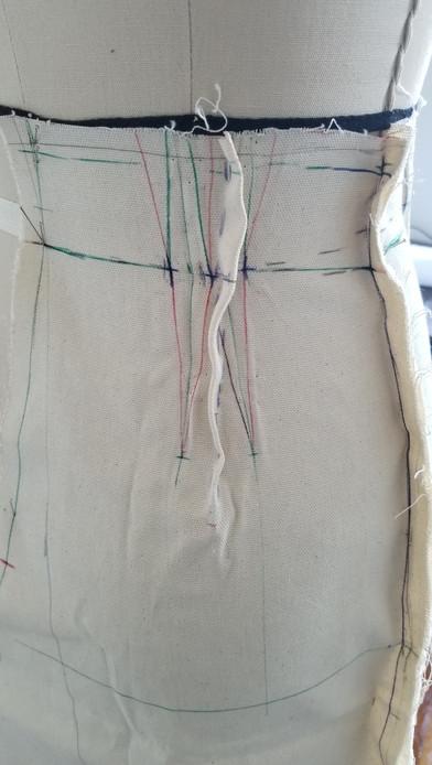 Back Pants Drape