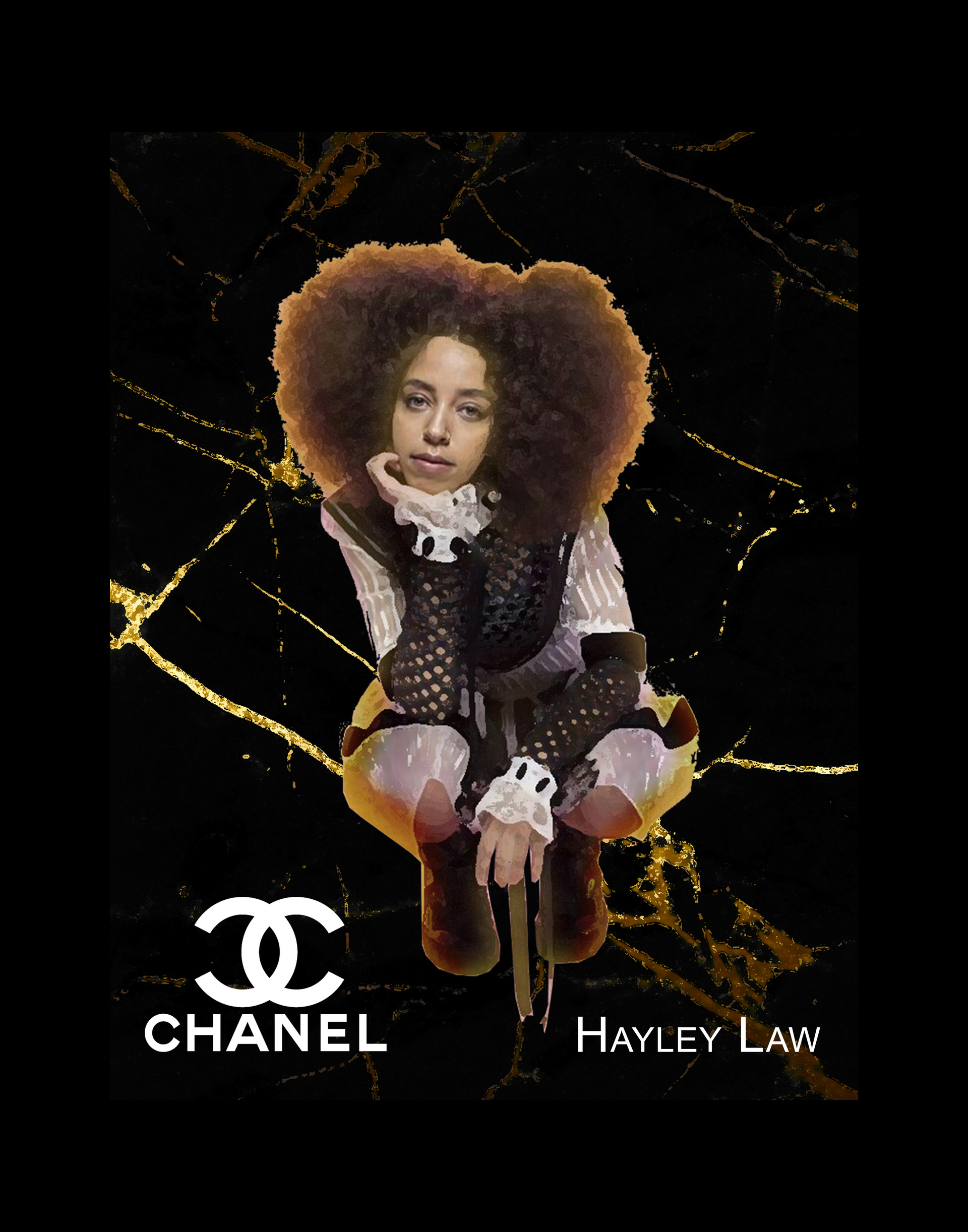Chanel Inspiration Muse: Hayley Law from 'Riverdale'