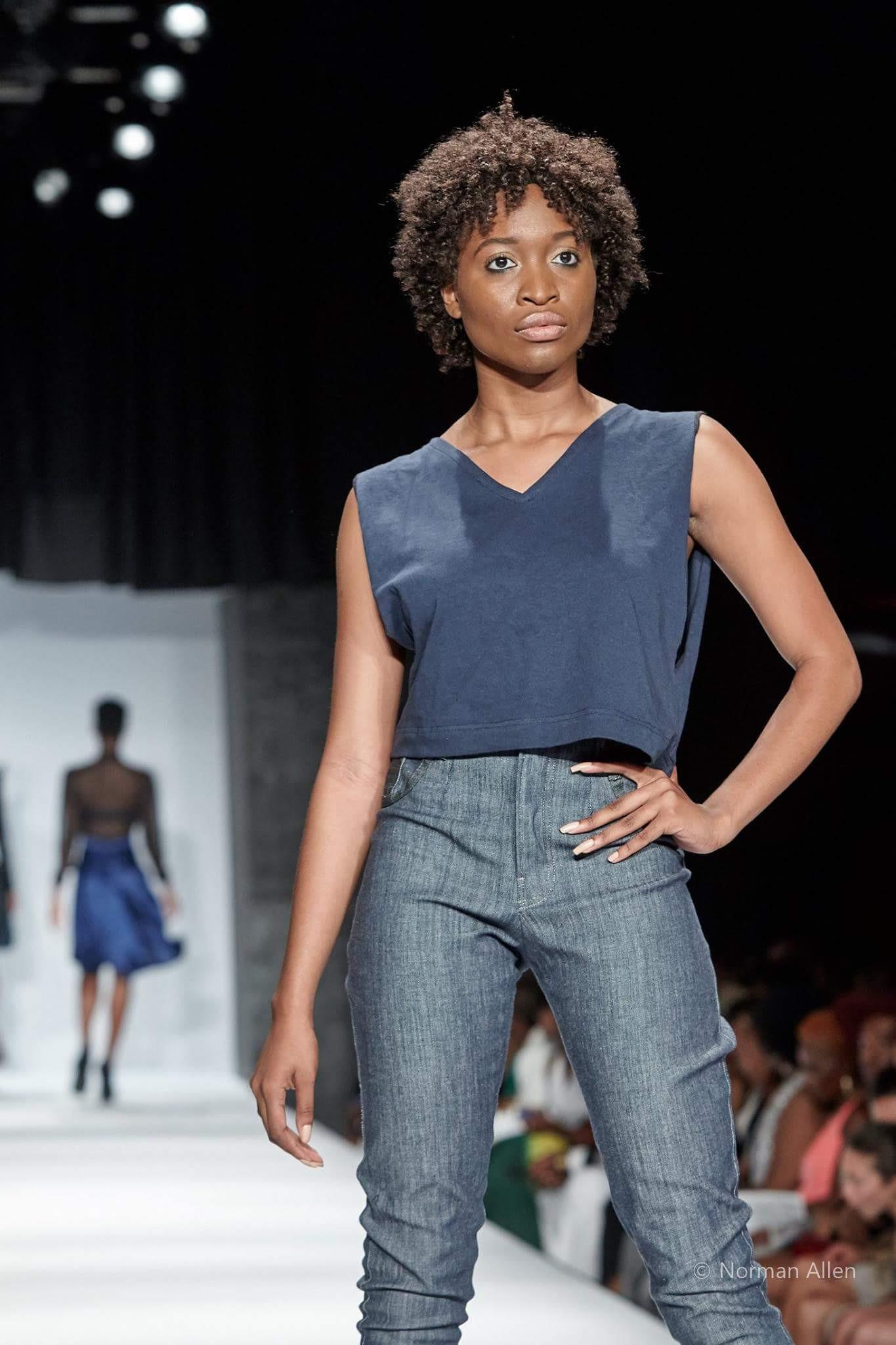 Monique Williams in 'Summertime Rolls' Photographer: Norman Allen