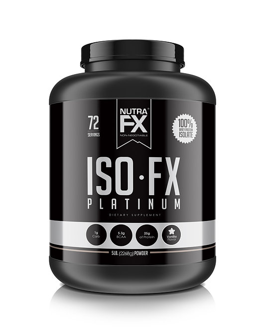 ISO-FX Whey Protein Isolate - 5.0 lb