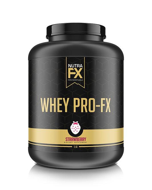 NUTRAFX WHEY PRO-FX 5LBS