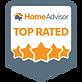 Top Rated Go BlueLight Plumbers | HomeAdvisor Badge