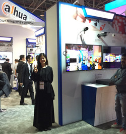 Exhibition in Saudi Arabia