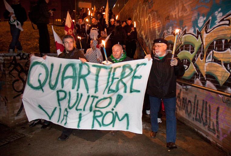 La Fiaccolata di Lega Nord