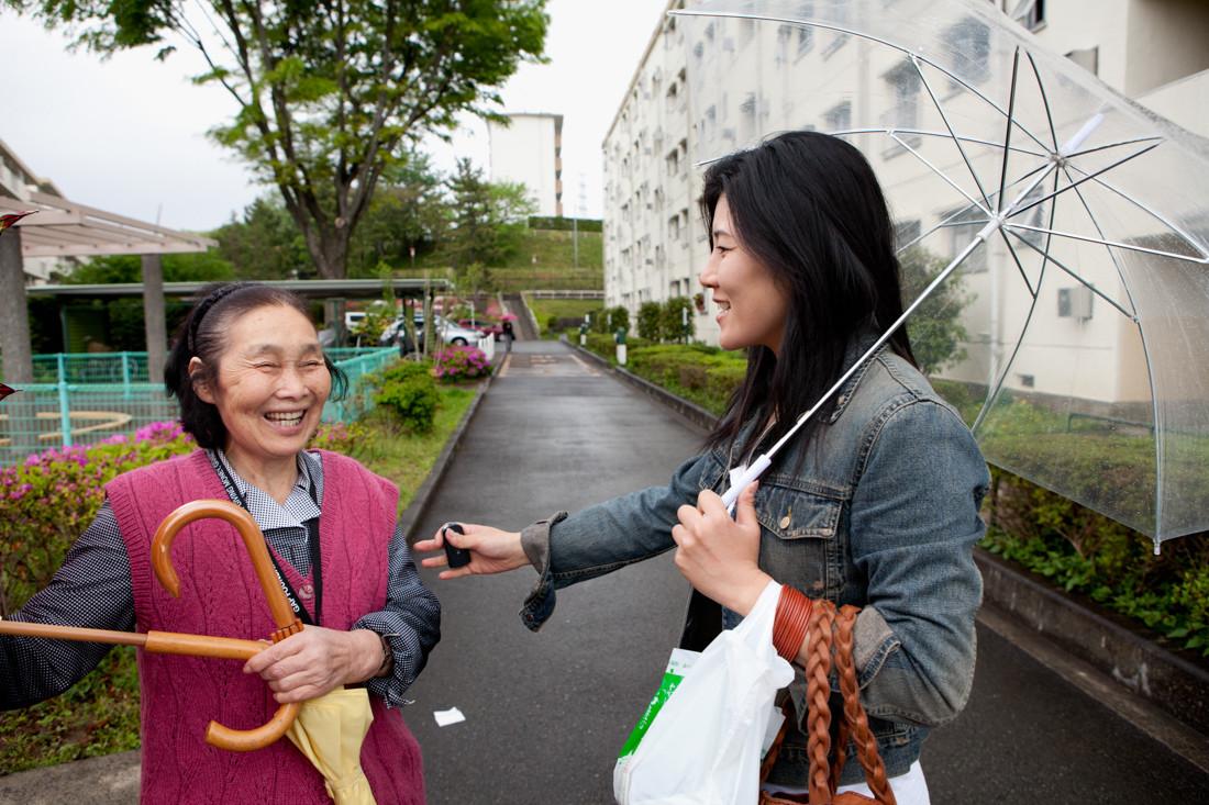 Contadino di Fukushima che non perde la speranza