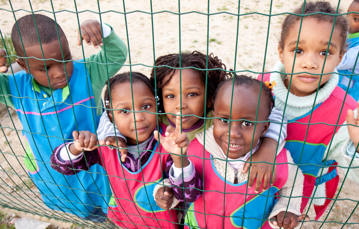 I sorrisi dei bambini del ghetto è l'opera di SCMS.