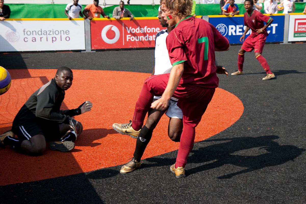 Homeless world cup Milan 2009