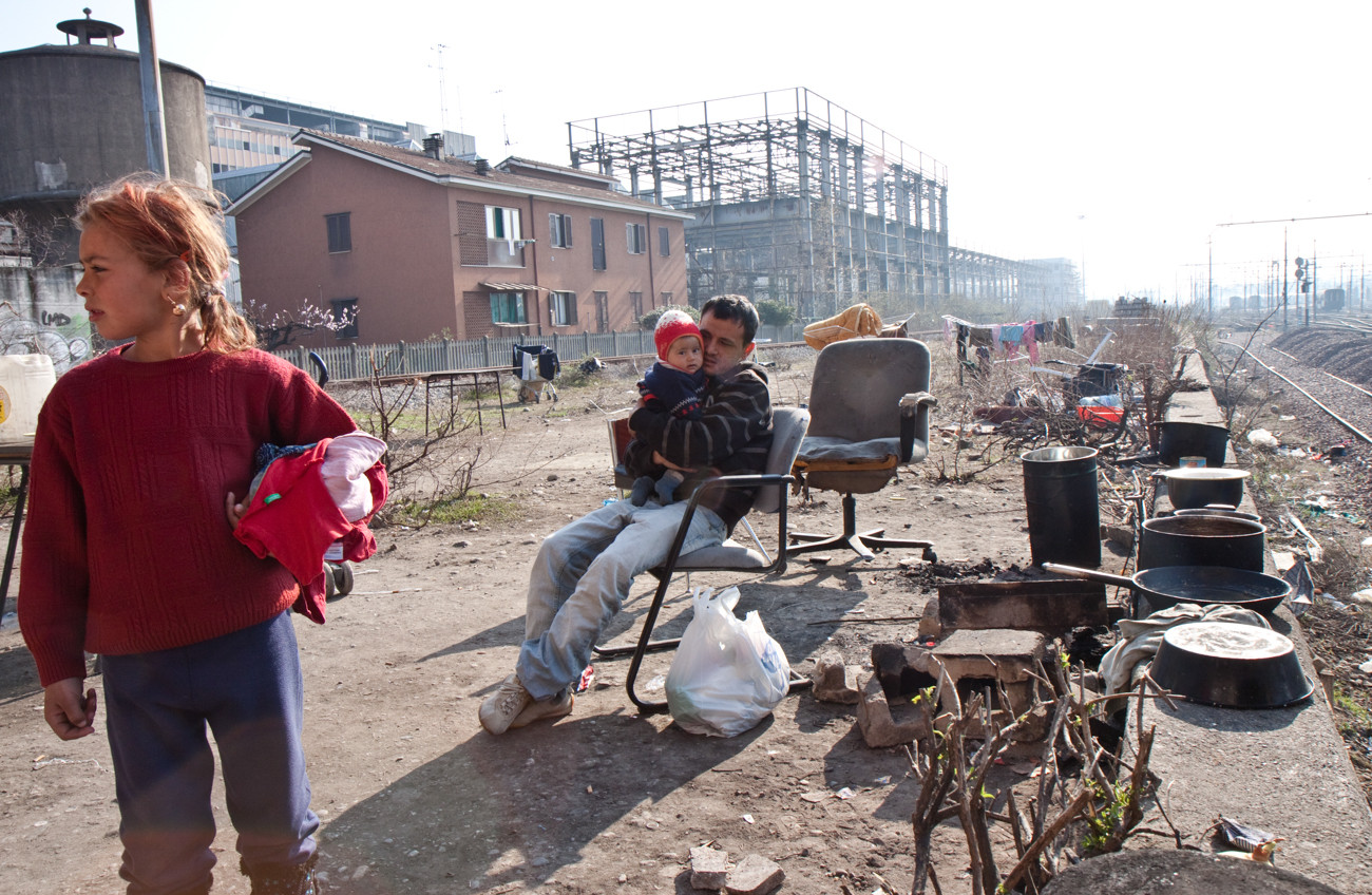 C'era una volta un campo rom