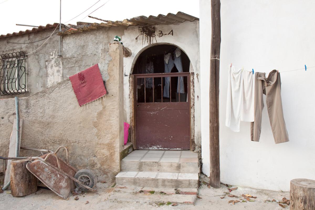 Abitazione della Santa Marta de Corroios, uno dei ghetti della periferia Lisbona