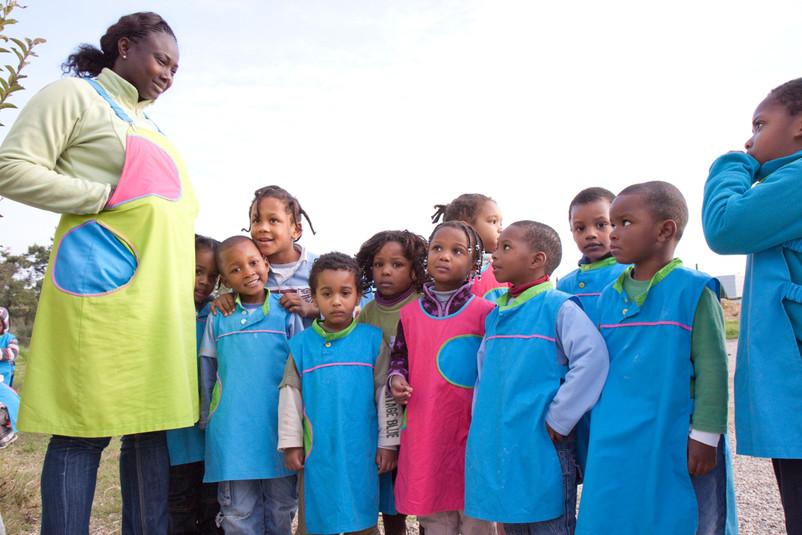 L'asilo infantile (scuola materna) del ghetto Santa Marta de Corroios.