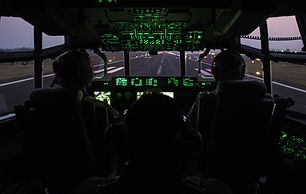 Inside the cockpit of C-130J Super Hercu