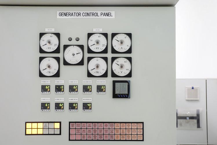 Generator Control Panel of Steam Turbine