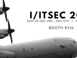 I/ITSEC 2019 December 2 – December 6, 2019 - booth #721