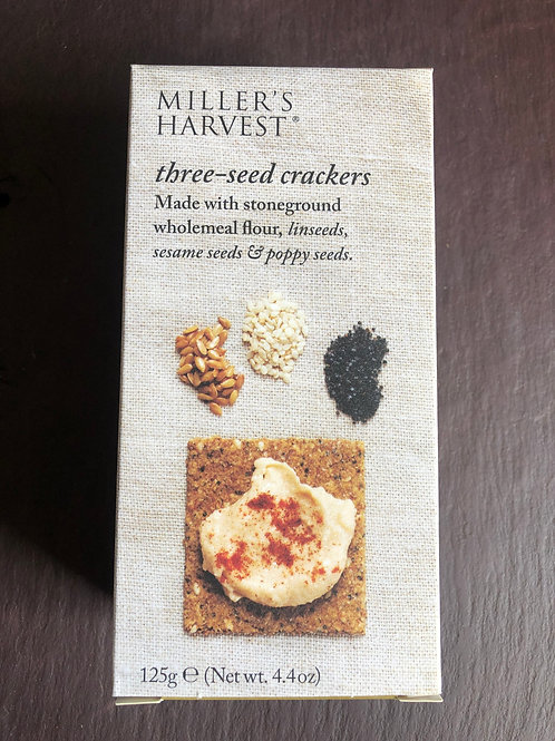 Millers Harvest 3 Seed Crackers