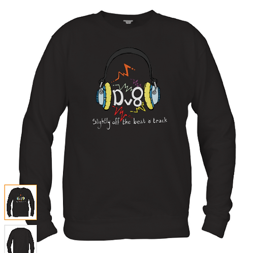 Fabulous Sweat Shirt Emblazoned With The Brook Valentine Design Dv8 Logo