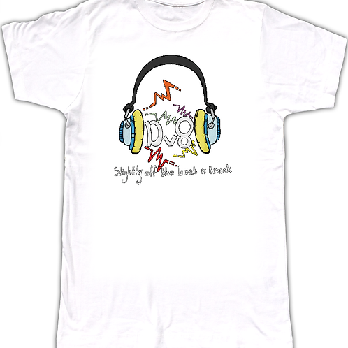 Fabulous T-Shirt Emblazoned With The Brook Valentine Design Dv8 Logo