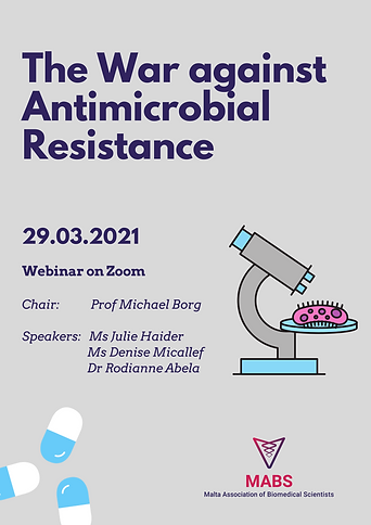 The War against Antimicrobial Resistance