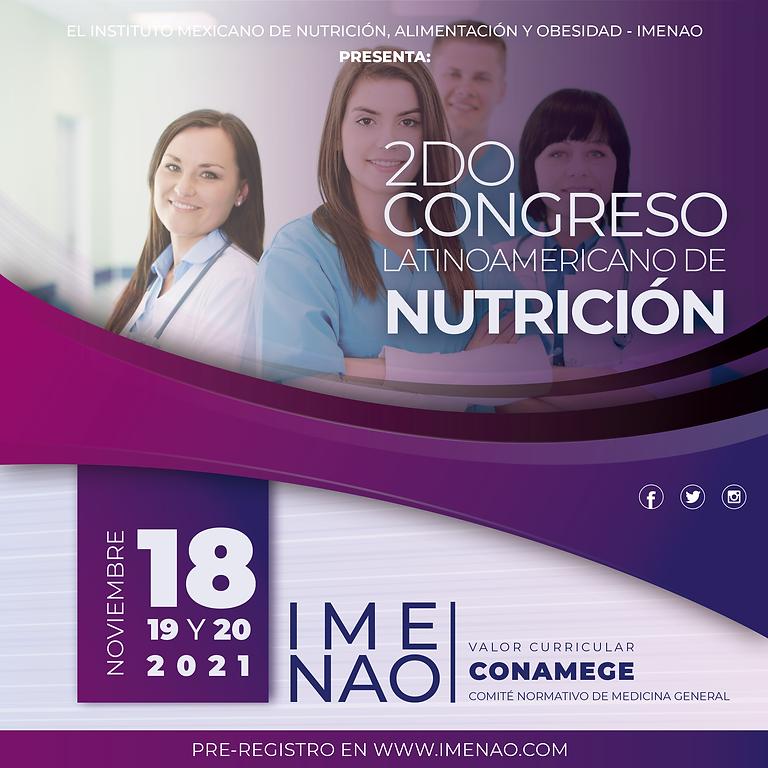 2do. Congreso Latinoamericano de Nutrición