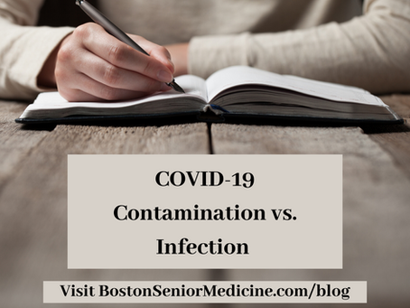 COVID-19 Contamination vs. Infection. What's the difference?