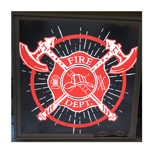 Fire Department LED Sign