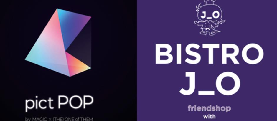 世界初!稲垣吾郎プロデュース「BISTRO J_O」&「J_O CAFE」にて、ビストロ&カフェARエンターテインメントを「pictPOP」が提供