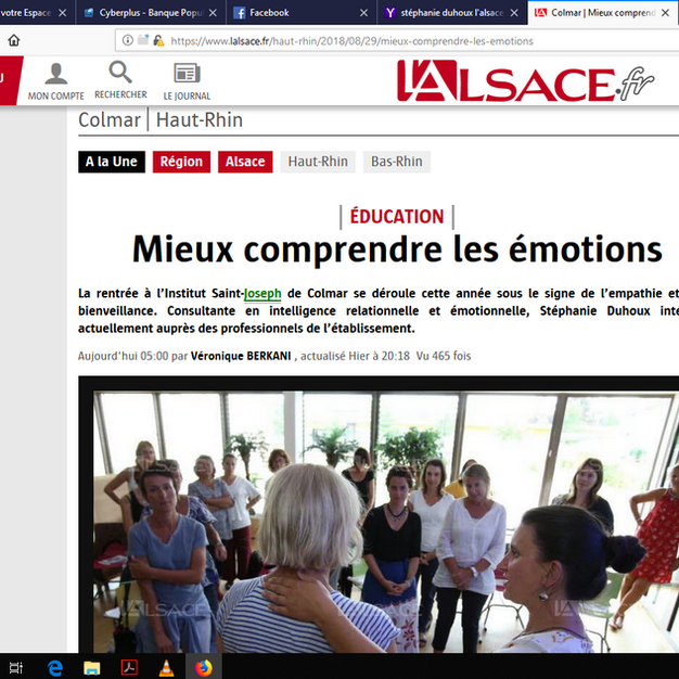 L'Alsace - aout 2018