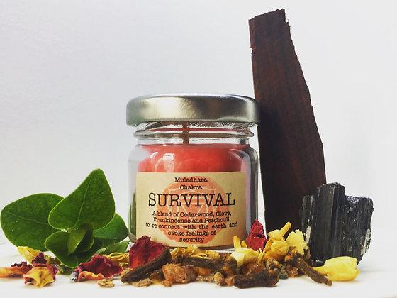 Survival Vegan Candle