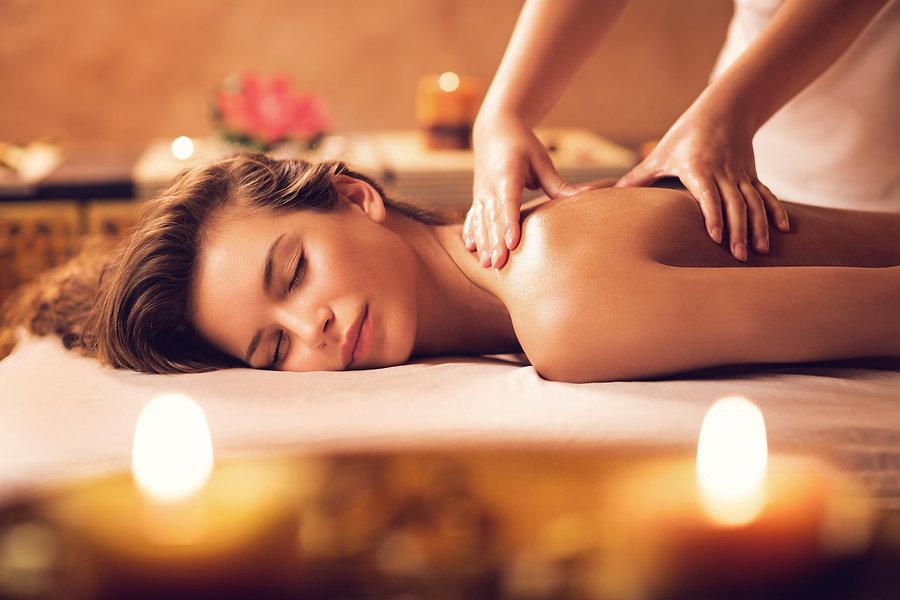 aromatherapy relaxing massage