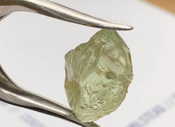 Apple Green Garnet