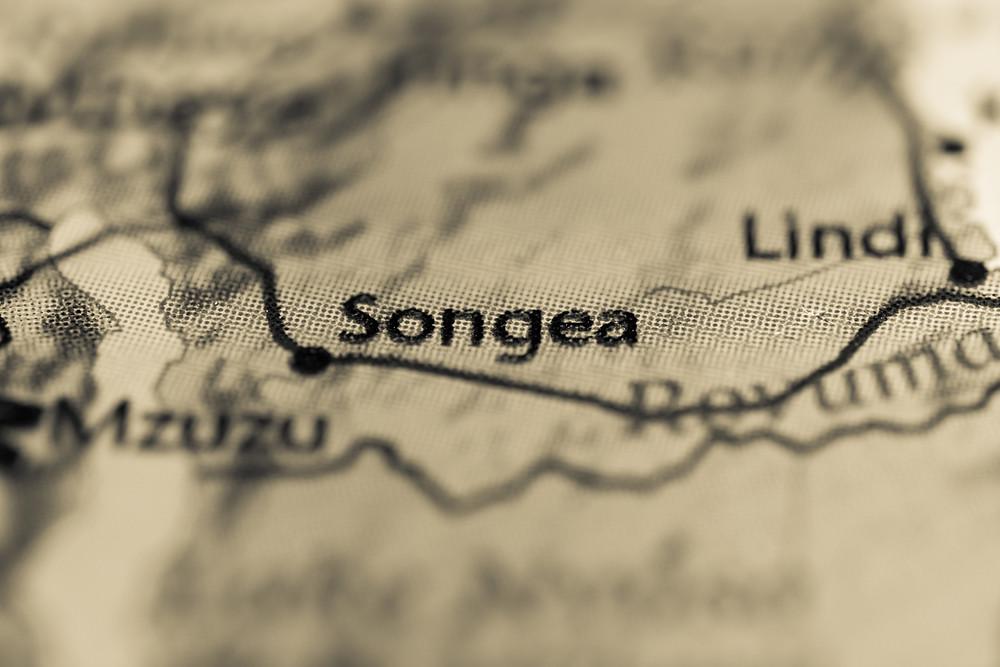 Map of Songea