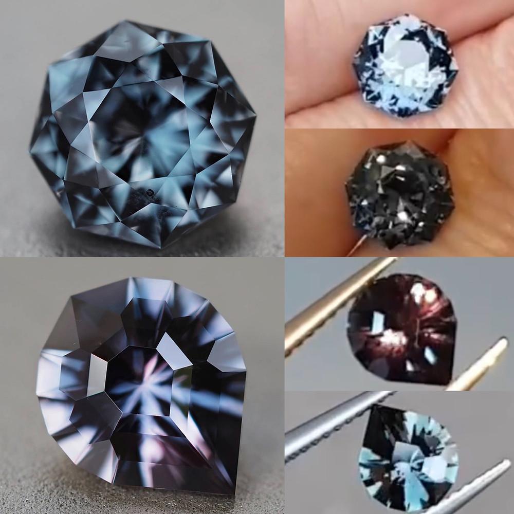 Songea sapphire, color change sapphire